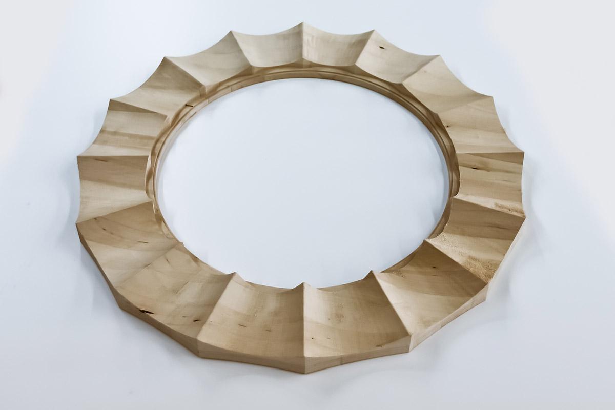 Ébénisterie Contemporaine - Frame de miroir