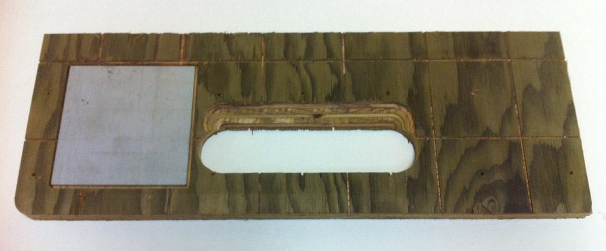 Transport en Commun - Plywood + metal insert